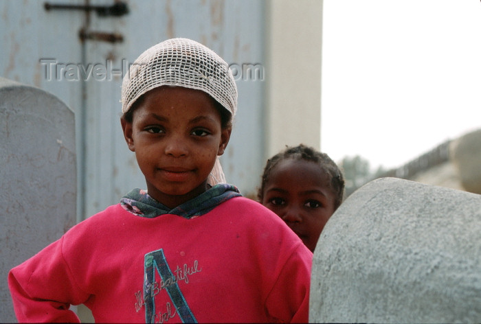 namibia94: Namibia - sisters - children - photo by G.Friedman - (c) Travel-Images.com - Stock Photography agency - Image Bank