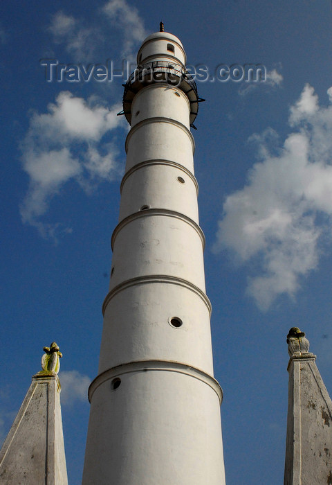 nepal138: Kathmandu, Nepal: minaret of the main mosque  - photo by E.Petitalot - (c) Travel-Images.com - Stock Photography agency - Image Bank