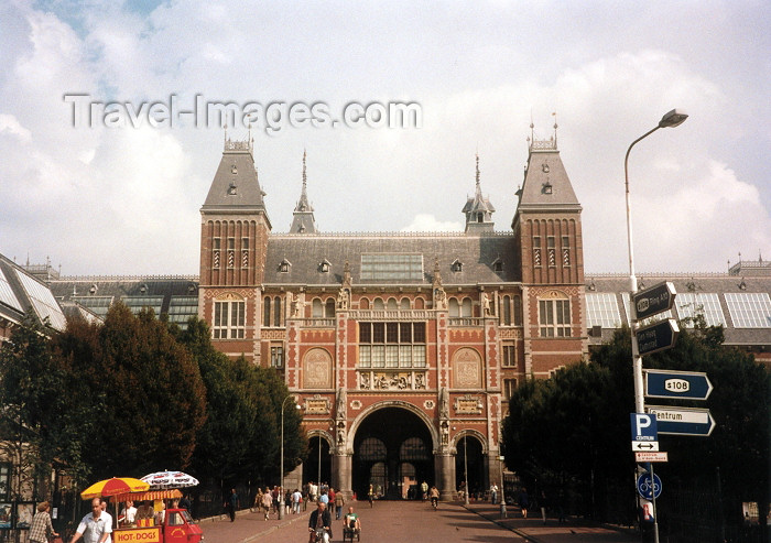 nether10: Netherlands / Holland - Amsterdam: the Royal Museum - Rijksmuseum on Stadhoudreskade (photo by M.Torres) - (c) Travel-Images.com - Stock Photography agency - Image Bank