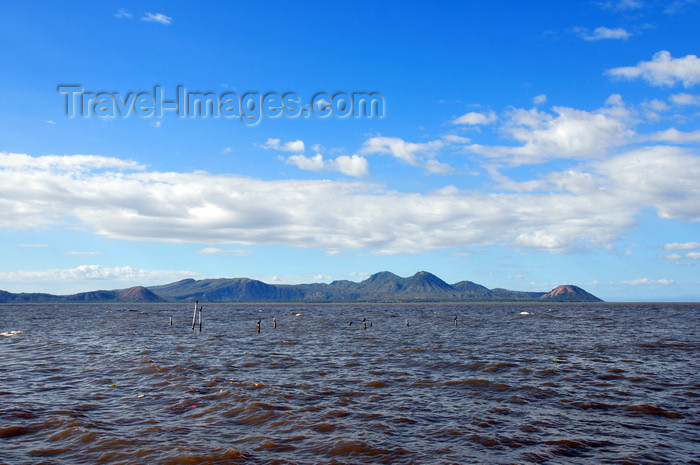 nicaragua50: Managua, Nicaragua: Lake Managua / Lago Xolotlán seen from the malécon - photo by M.Torres - (c) Travel-Images.com - Stock Photography agency - Image Bank