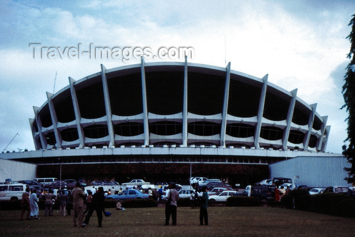 nigeria2: Nigeria - Lagos / LOS: National Arts Theatre - photo by Dolores CM - (c) Travel-Images.com - Stock Photography agency - Image Bank