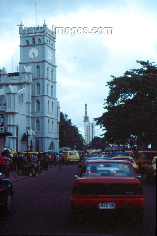 nigeria4: Nigeria - Lagos / LOS: church in Western Africa - photo by Dolores CM - (c) Travel-Images.com - Stock Photography agency - Image Bank