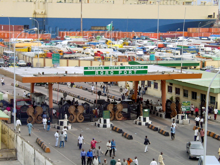 nigeria50: Lagos, Nigeria: entrance to the RoRo port - Nigerian Ports Authority - photo by A.Bartel - (c) Travel-Images.com - Stock Photography agency - Image Bank