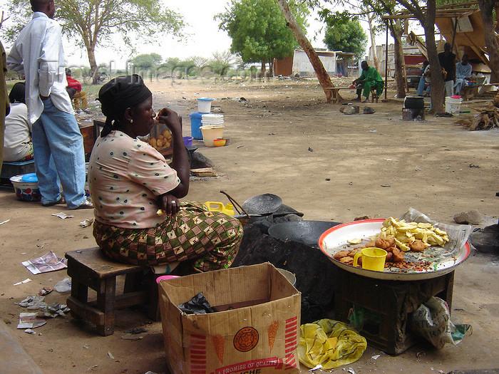 nigeria55: Kano, Nigeria: al fresco restaurant - photo by A.Obem - (c) Travel-Images.com - Stock Photography agency - Image Bank