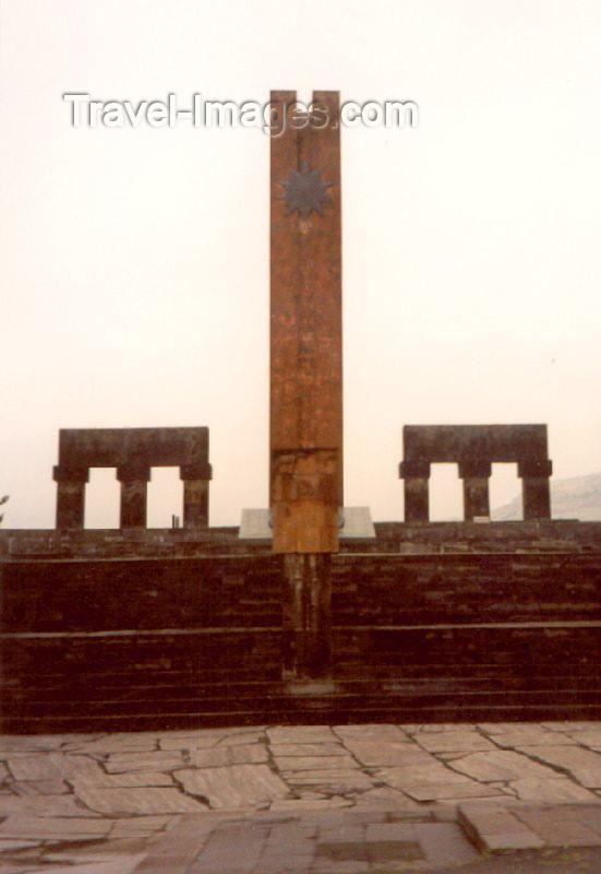 nk18: Nagorno Karabakh - Xankandi / Stepanakert: Soviet World War II / Great Patriotic War memorial (photo by M.Torres) - (c) Travel-Images.com - Stock Photography agency - Image Bank
