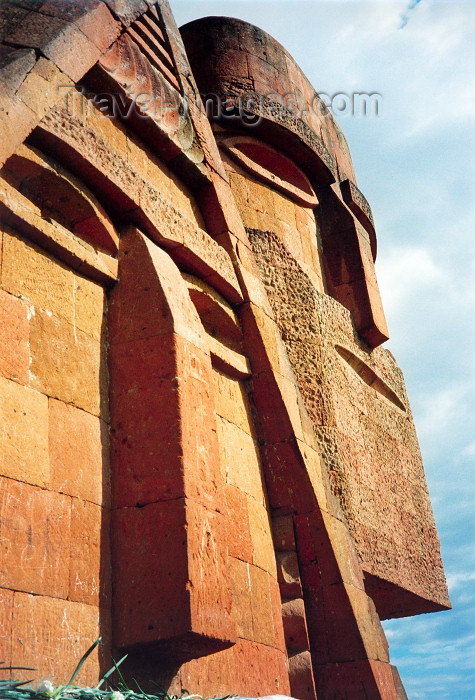 nk33: Nagorno Karabakh - Xankandi / Stepanakert: Tatik Papik monument - detail - sculptor: Sarkis Baghdasarian - official title: we are our hills (photo by M.Torres) - (c) Travel-Images.com - Stock Photography agency - Image Bank