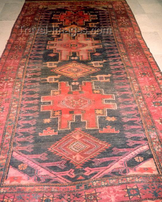 nk34: Nagorno Karabakh - Gandzasar: Karabakh carpet (photo by M.Torres) - (c) Travel-Images.com - Stock Photography agency - Image Bank