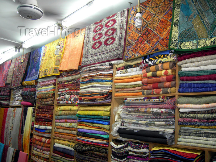 pakistan145: Islamabad, Pakistan: fabrics shop - photo by D.Steppuhn - (c) Travel-Images.com - Stock Photography agency - Image Bank