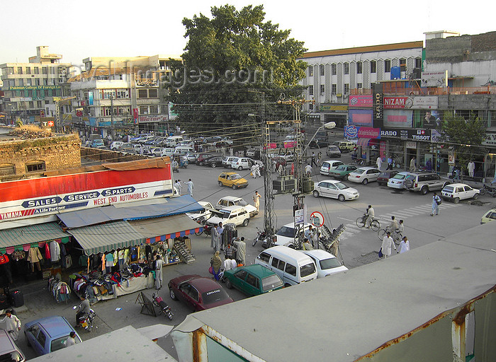 pakistan149: Rawalpindi, Punjab, Pakistan: view of Bank Road - Saddar - photo by D.Steppuhn - (c) Travel-Images.com - Stock Photography agency - Image Bank