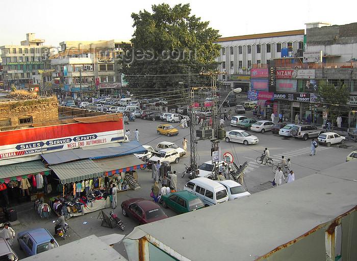 pakistan149: Rawalpindi, Punjab, Pakistan: view of Bank Road - Saddar - photo by D.Steppuhn - (c) Travel-Images.com - Stock Photography agency - Image Bank