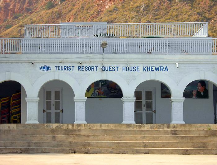 pakistan151: Jhelum District, Punjab, Pakistan: Khewra Salt Mines - guest house - photo by D.Steppuhn - (c) Travel-Images.com - Stock Photography agency - Image Bank