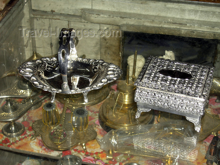 pakistan153: Rawalpindi, Punjab, Pakistan: German silver - photo by D.Steppuhn - (c) Travel-Images.com - Stock Photography agency - Image Bank