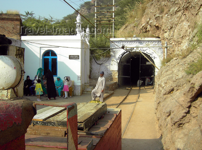 pakistan154: Jhelum District, Punjab, Pakistan: Khewra Salt Mines -  main tunnel - photo by D.Steppuhn - (c) Travel-Images.com - Stock Photography agency - Image Bank