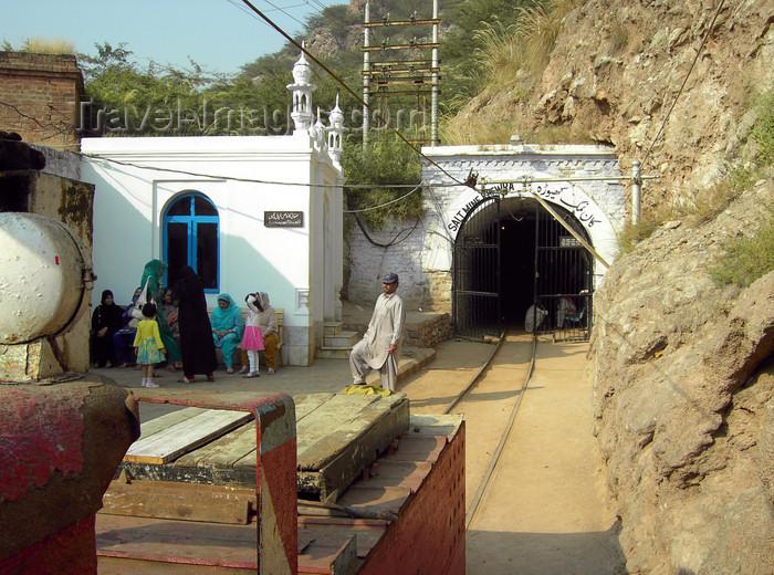 pakistan154: Jhelum District, Punjab, Pakistan: Khewra Salt Mines -  main tunnel - photo by D.Steppuhn - (c) Travel-Images.com - Stock Photography agency - Image Bank