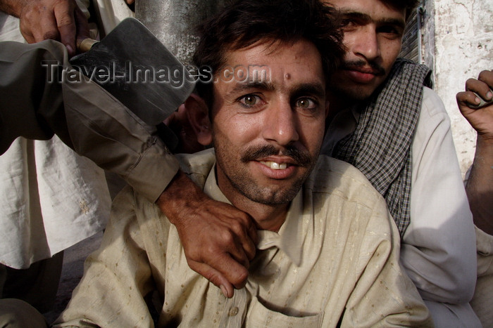 pakistan193: Lahore, Punjab, Pakistan: day labourers waiting for work in the old city - photo by G.Koelman - (c) Travel-Images.com - Stock Photography agency - Image Bank