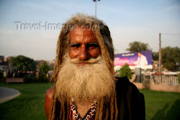 pakistan197: Lahore, Punjab, Pakistan: long bearded Sufi men - photo by G.Koelman - (c) Travel-Images.com - Stock Photography agency - Image Bank