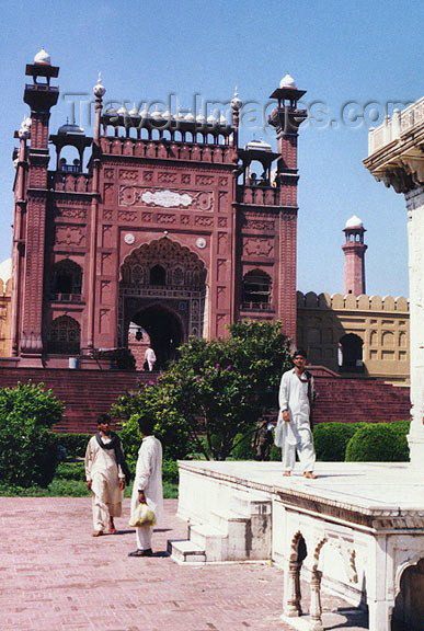 pakistan26: Pakistan - Lahore: fort and Palace - Unesco world heritage site - photo by G.Frysinger - (c) Travel-Images.com - Stock Photography agency - Image Bank