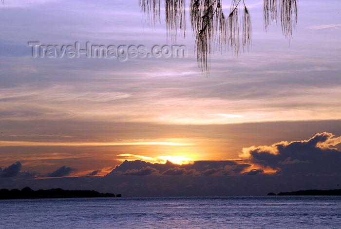 palau6: Ngeruktabl island, Rock Islands, Koror state, Palau: Ngeremdiu / Margie's beach sunset - photo by B.Cain - (c) Travel-Images.com - Stock Photography agency - Image Bank
