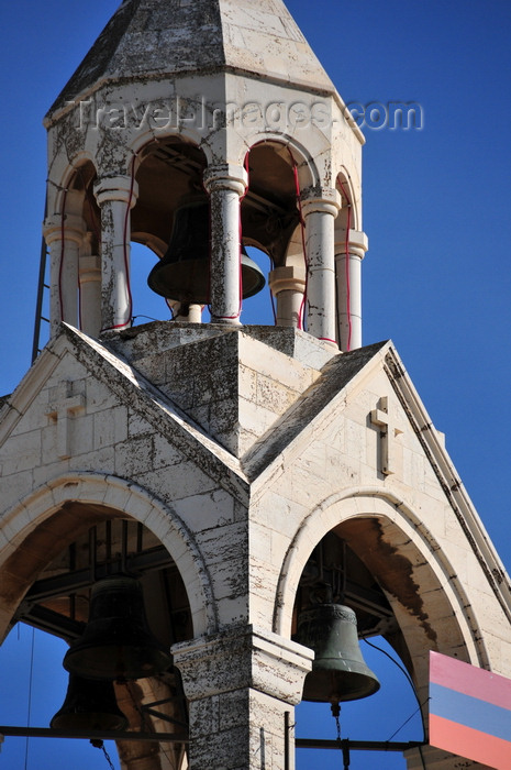 palest49: Bethlehem, West Bank, Palestine: Church of the Nativity - Armenian bell tower, part of an Armenian monastery - various Christian denominations share control over different parts of the church - photo by M.Torres - (c) Travel-Images.com - Stock Photography agency - Image Bank