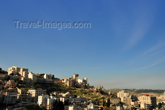 palest73: Bethlehem, West Bank, Palestine: sky and suburbia - photo by M.Torres - (c) Travel-Images.com - Stock Photography agency - Image Bank