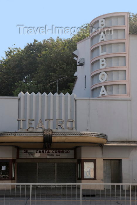 panama484: Panama City / Ciudad de Panama: Balboa Theater - home to the Orquesta Sinfónica Nacional - Avenida Arnulfo Arias Madrid, Balboa  - photo by H.Olarte - (c) Travel-Images.com - Stock Photography agency - Image Bank