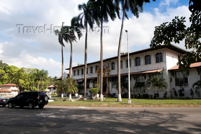 panama488: Panama City / Ciudad de Panama: Old Army and Navy YMCA building - Balboa  - photo by H.Olarte - (c) Travel-Images.com - Stock Photography agency - Image Bank