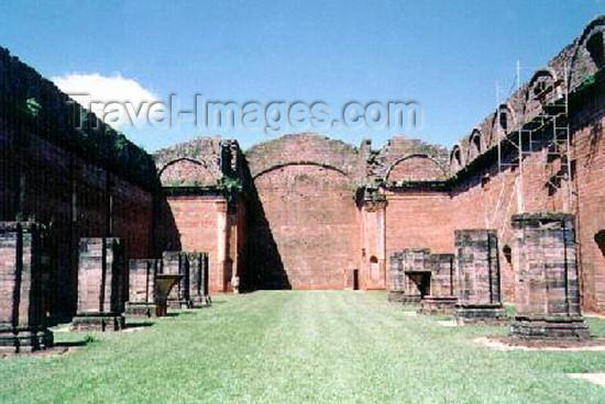 paraguay3: Paraguay - Encarnación Departamento: Itapúa - ruins of Trinidad - Jesuit missions - Unesco world heritage (photo by B.Cloutier) - (c) Travel-Images.com - Stock Photography agency - Image Bank