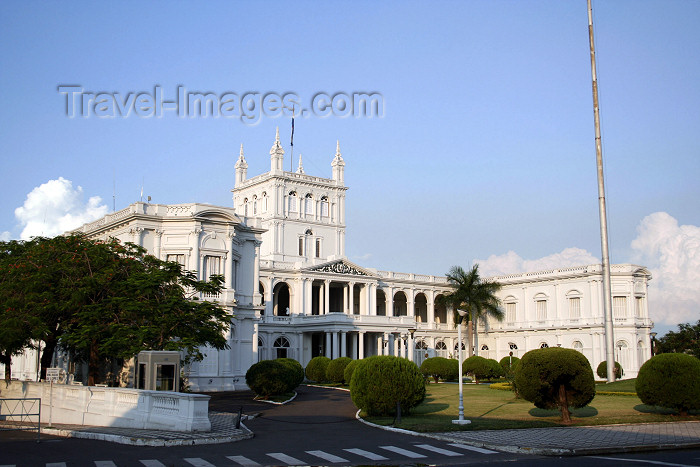 paraguay32: Paraguay - Asunción: government palace / Palacio de Gobierno - photo by A.Chang - (c) Travel-Images.com - Stock Photography agency - Image Bank