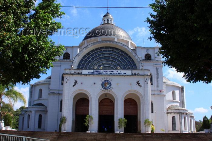 paraguay93: Caacupé, department of Cordillera, Paraguay: Basilica of Our Lady of Miracles - façade - basílica de la Virgen de la Inmaculada Concepción de los Milagros - photo by A.Chang - (c) Travel-Images.com - Stock Photography agency - Image Bank