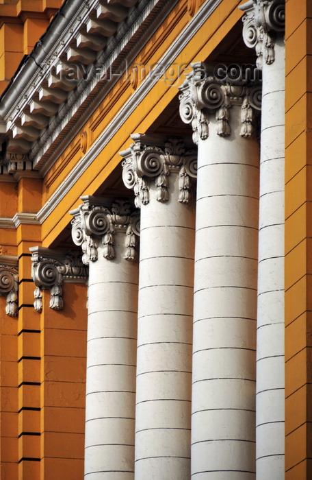 peru64: Lima, Peru: Beaux Arts school - Ionic order columns on the façade - Escuela Nacional de Bellas Artes - Centro Cultural - ENSABAP - photo by M.Torres - (c) Travel-Images.com - Stock Photography agency - Image Bank