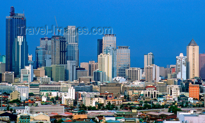 phil40: Manila city, Philippines - Metro Manila city skyline - photo by B.Henry - (c) Travel-Images.com - Stock Photography agency - Image Bank