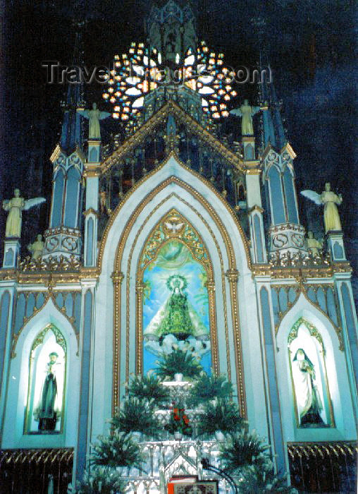 phil6: Philippines - Manila: the Virgin in the altar - Catholic church - photo by M.Torres - (c) Travel-Images.com - Stock Photography agency - Image Bank