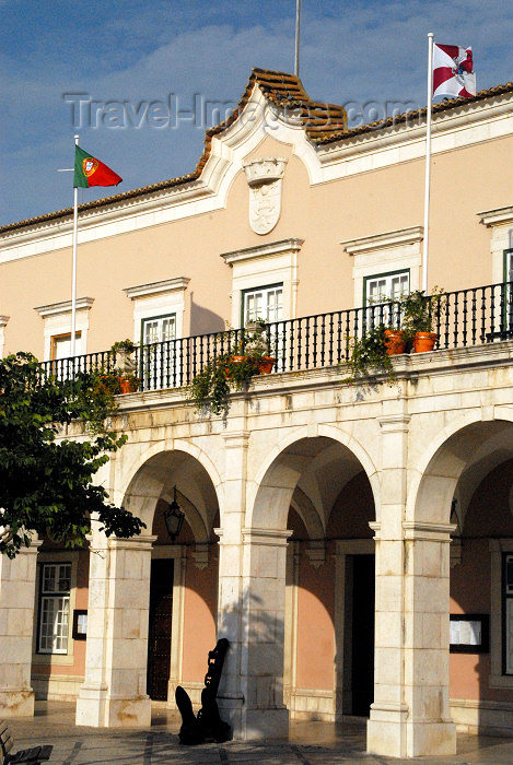portugal-se159: Portugal - Setúbal: city hall / Câmara Municipal de Setúbal - CMS - photo by M.Durruti - (c) Travel-Images.com - Stock Photography agency - Image Bank