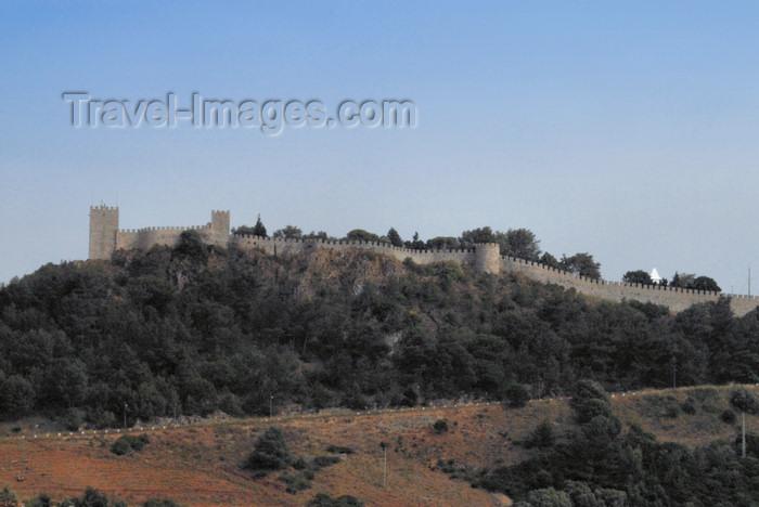 portugal-se168: Portugal - Sesimbra: the castle - Castelo dos Mouros - Monumento nacional - photo by M.Durruti - (c) Travel-Images.com - Stock Photography agency - Image Bank