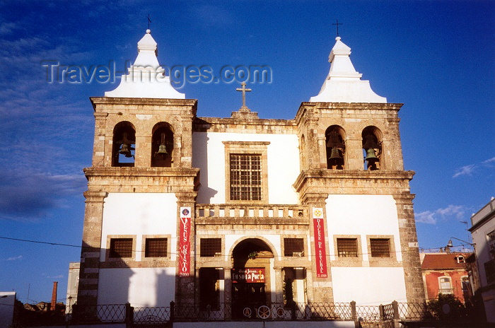 portugal167: Portugal - Setúbal: St. Mary's church / Igreja de Santa Maria - Praça do Exército - photo by M.Durruti - (c) Travel-Images.com - Stock Photography agency - Image Bank