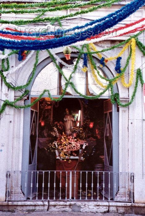 portugal170: Portugal - Setúbal: street altar / altar de rua - photo by M.Durruti - (c) Travel-Images.com - Stock Photography agency - Image Bank