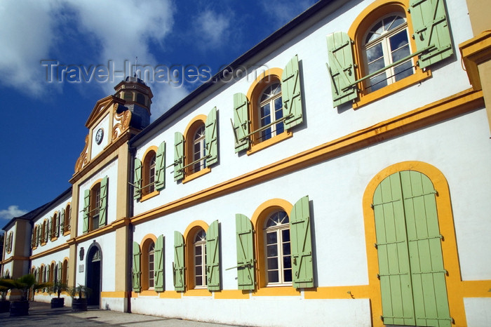 reunion132: Réunion - St-Pierre: town hall / hotel de ville - photo by Y.Guichaoua - (c) Travel-Images.com - Stock Photography agency - Image Bank