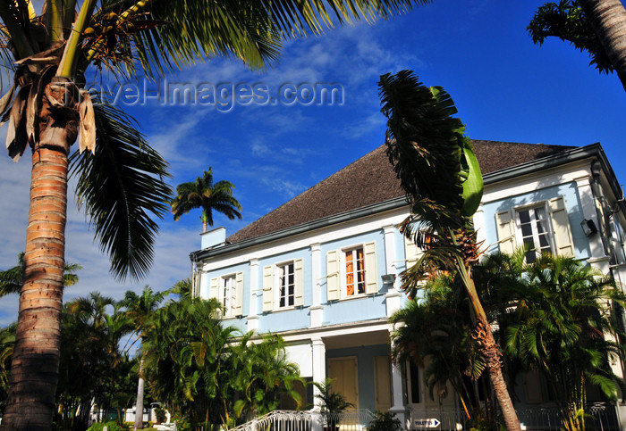reunion225: Saint-Denis, Réunion: garden behind the Conseil Général de La Réunion building - photo by M.Torres - (c) Travel-Images.com - Stock Photography agency - Image Bank