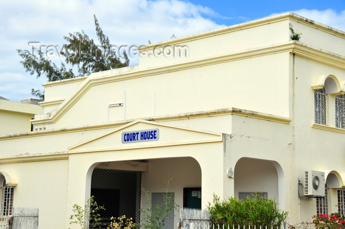 rodrigues62: Port Mathurin, Rodrigues island, Mauritius: courthouse building - photo by M.Torres - (c) Travel-Images.com - Stock Photography agency - Image Bank