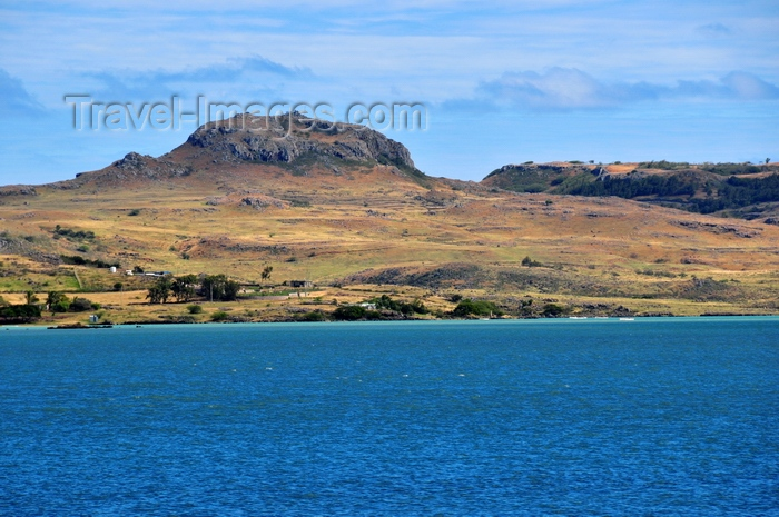 rodrigues67: Mont Croupier, Rodrigues island, Mauritius: the small mountain and the northwest coast - photo by M.Torres - (c) Travel-Images.com - Stock Photography agency - Image Bank
