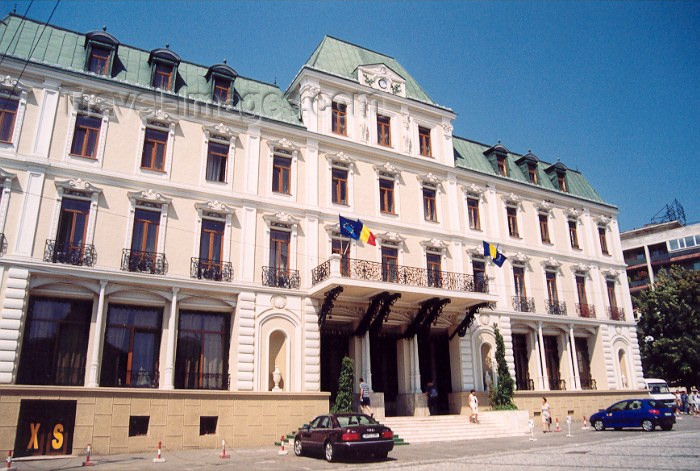 romania15: Romania - Iasi / IAS: Hotel Traian designed by Gustave Eiffel - Piata Unirii - photo by M.Torres - (c) Travel-Images.com - Stock Photography agency - Image Bank