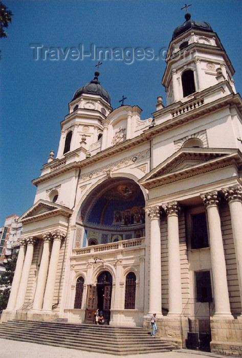 romania18: Romania / Rumänien  - Iasi: Moldavian Metropolitan Cathedral / Mitropolia Moldovei - photo by M.Torres - (c) Travel-Images.com - Stock Photography agency - Image Bank