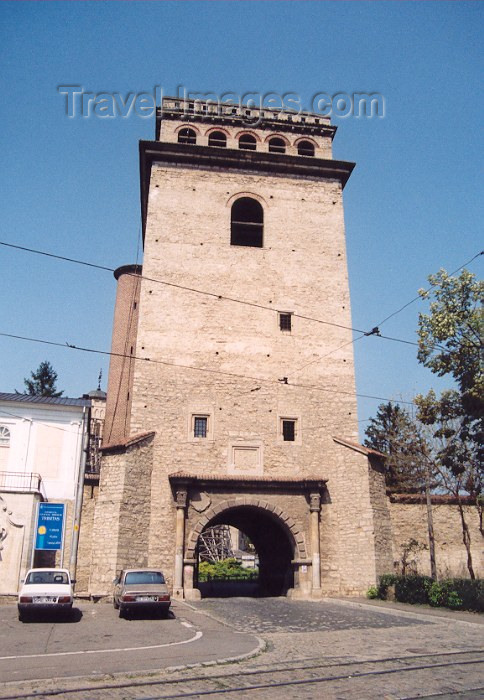 romania2: Romania / Rumänien - Iasi: entrance to Golia monastery / Manastirea Golia - Cuza Voda st - photo by M.Torres - (c) Travel-Images.com - Stock Photography agency - Image Bank