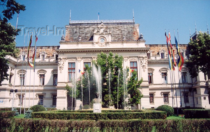 romania20: Romania / Rumänien  - Iasi: Municipal building -  blvd Stefan Cel Mare si Sfant - photo by M.Torres - (c) Travel-Images.com - Stock Photography agency - Image Bank