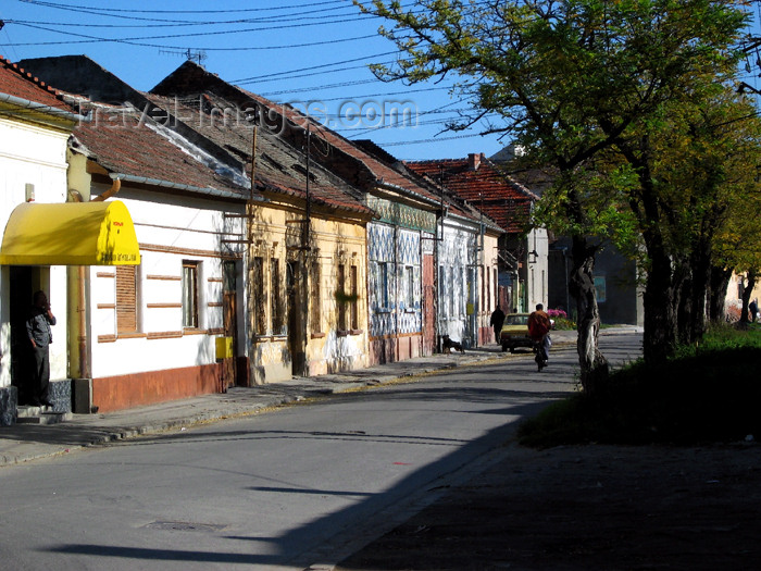 romania60: Romania - Timisoara: a modest street - photo by *ve - (c) Travel-Images.com - Stock Photography agency - Image Bank