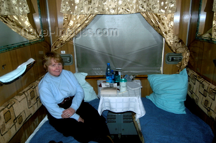 russia334: Irkutsk oblast, Siberian Federal District, Russia: train compartment - Trans-Siberian Railway - photo by B.Cain - (c) Travel-Images.com - Stock Photography agency - Image Bank