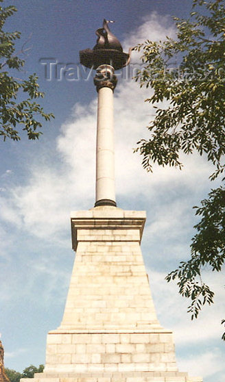 russia349: Russia - Khabarovsk (Far East region): naval monument - column (photo by G.Frysinger) - (c) Travel-Images.com - Stock Photography agency - Image Bank