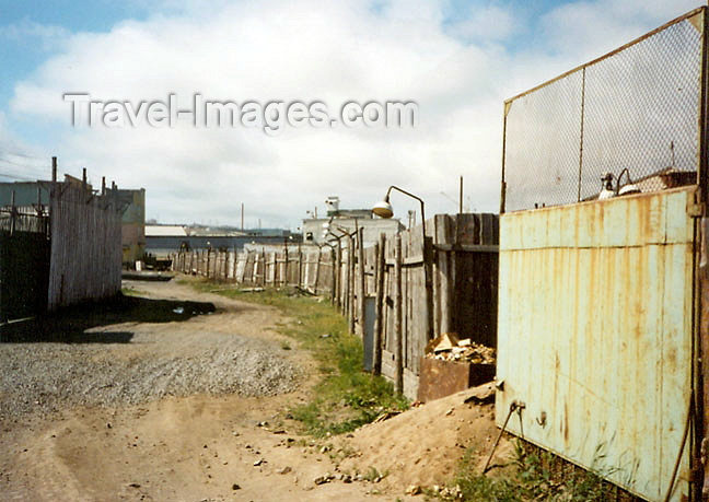 russia351: Russia - Dalstroy Gulag in the Magadan-Kolyma region - prison camp - Far East region (photo by G.Frysinger) - (c) Travel-Images.com - Stock Photography agency - Image Bank