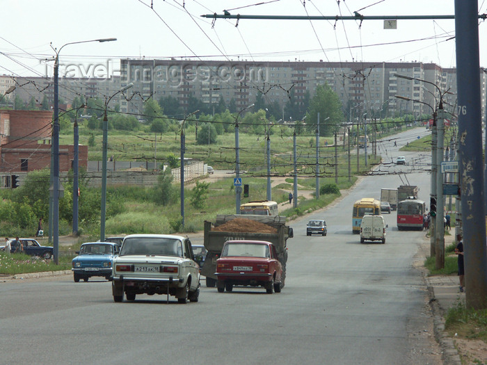 russia453: Russia - Udmurtia - Izhevsk: leaving the city - photo by P.Artus - (c) Travel-Images.com - Stock Photography agency - Image Bank
