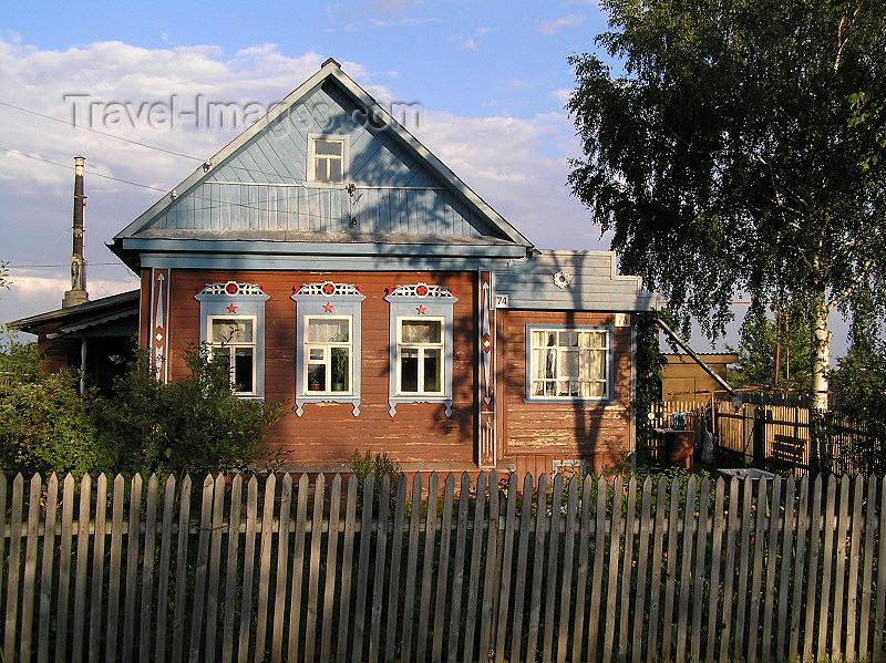 russia493: Russia - Vladimir oblast:  village architecture - photo by J.Kaman - (c) Travel-Images.com - Stock Photography agency - Image Bank